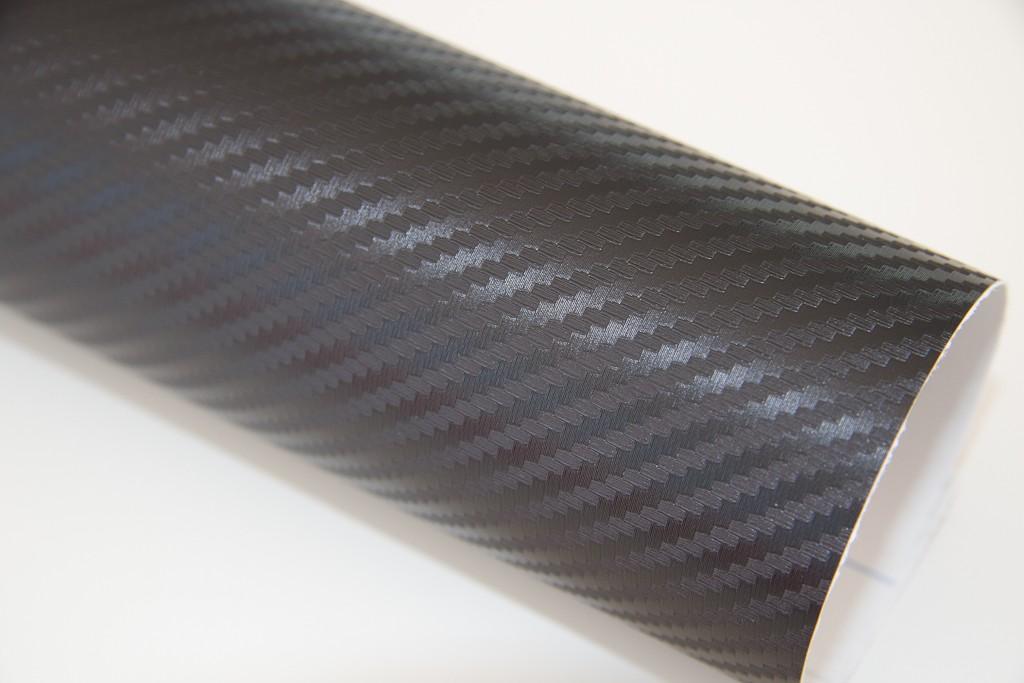 Carbon Vinyl Black 3D Air - Release